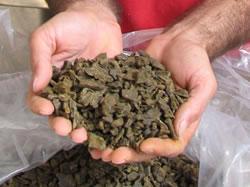 ブラジル産でも品質のよくないプロポリス原塊も存在します。